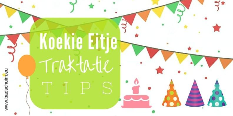 Koekie eitje traktatie tips header I te vinden op creatief lifestyle blog Badschuim