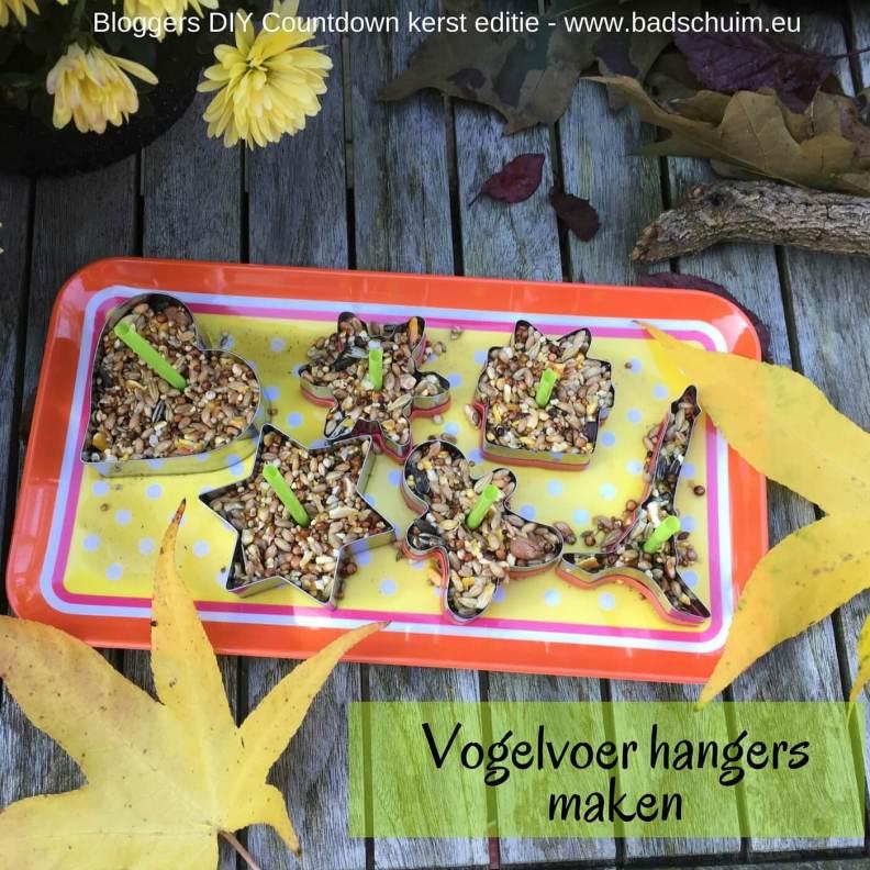 Vogelvoer hangers maken - stap 3 - Bloggers DIY Countdown kerst editie I gemaakt door het creatief lifestyle blog www.badschuim.eu