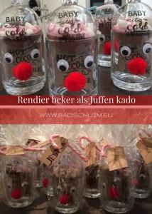 Rendier beker als juffen kado I DIY stappenplan I gemaakt door creatief lifestyle blog www.badschuim.eu