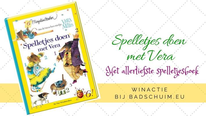 Spelletjes doen met Vera - winactie bij het creatief lifestyle blog www.badschuim.eu