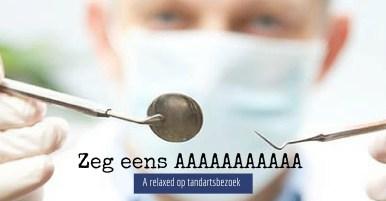 gespannen voor de tandarts