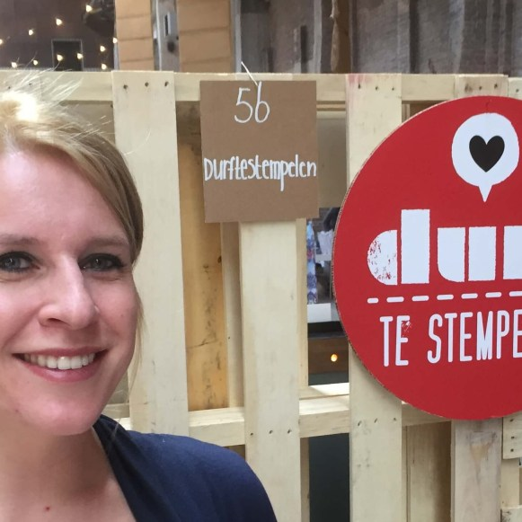 durf te stempelen op het feel good en shop event
