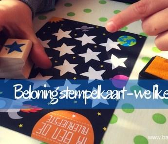 Op zoek naar een leuke manier om je kind een pluim te geven? Kies voor de beloning stempelkaart. Leuk, mooi geïllustreerd en je kind zal het te gek vinden!