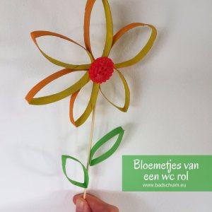 Geef eens bloemetjes van wc rolletjes cadeau. Simpel te maken (ook met kids) met dit DIY foto stappenplan. Eigenlijk zo leuk dat je ze zelf wilt houden!