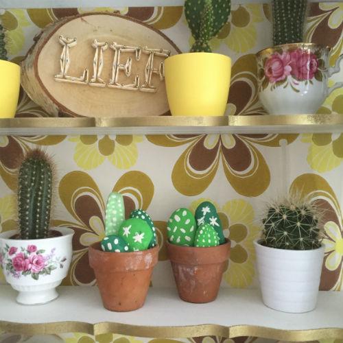 Stenen cactusjes_cactus DIY
