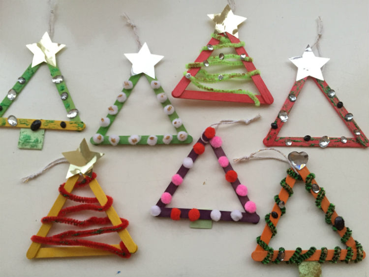 Diy kerstkaart hippe kerstkaart zelf maken for Mini kerstboom action