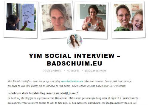 In de media Badschuim YIM Social - 2016-11-15