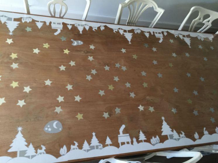 Winter wonderland tafel - DIY winter tafeldecoratie