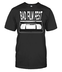 Bad Film Fest VHS – $18 USD (available in 8 colors)