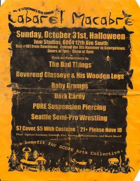 1st Annual Cabaret Macabre - October 2003