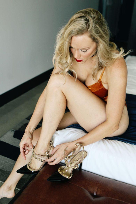 boudoir heels
