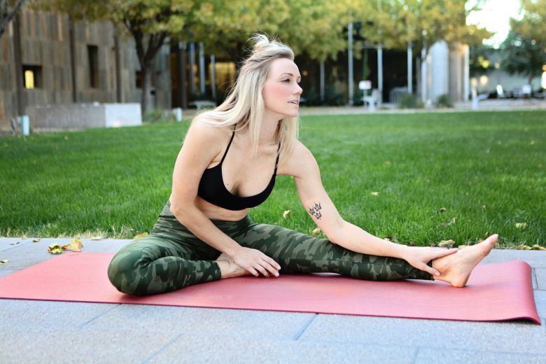 Manduka rose gold yoga mat