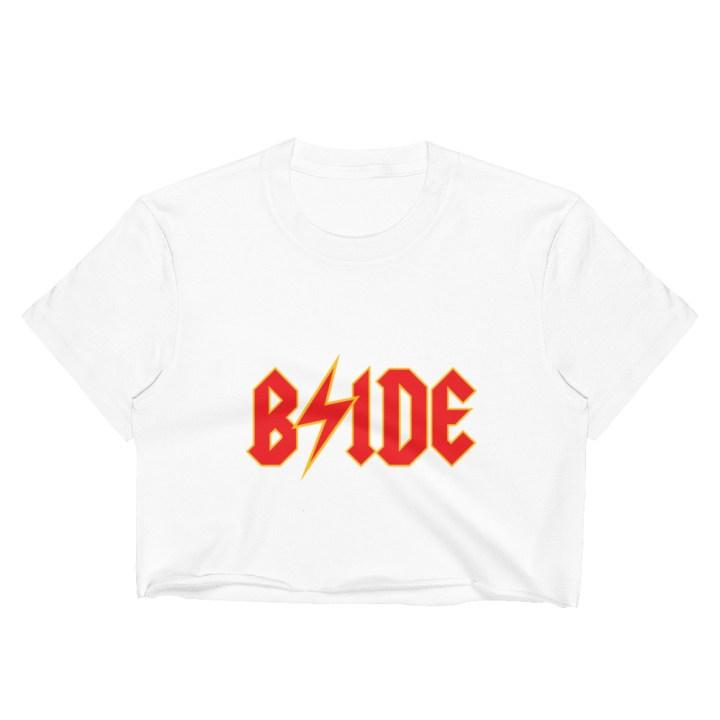bride crop top