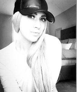 black faux leather baseball hat