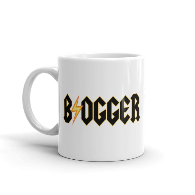 blogger coffee mug