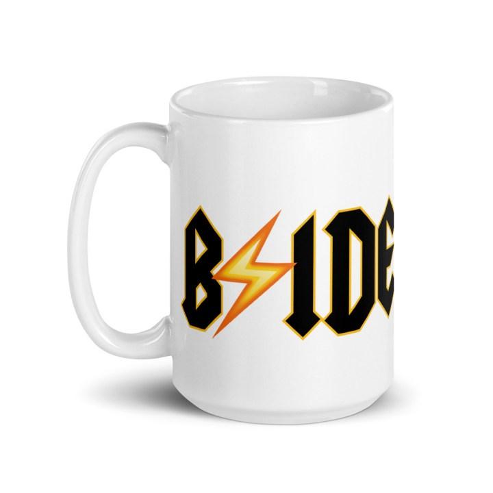 bride coffee mug tall 15 oz