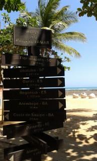 oh wow, Florianópolis is 2619km away