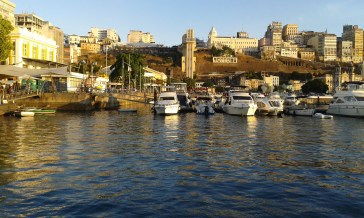 the port in Salvador