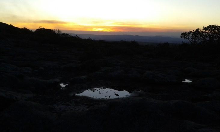 sunset at Alto do Pai Inácio