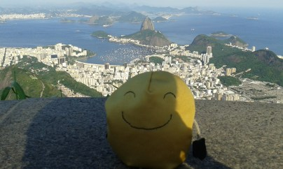 sugar loaf seen from Cristo Redentor