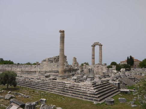 Temple of Apollo, the second largest in ancient times