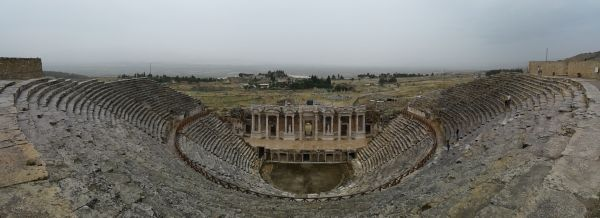 Theater in Hierapolis ruins