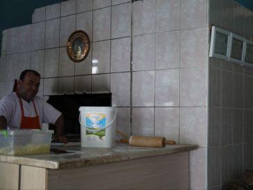 He baked the best pide ever in Aytekinler Pide & Kebab Salonu just down the road