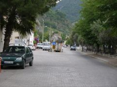 Fethiye - sarcophagus in the middle of the street... why not
