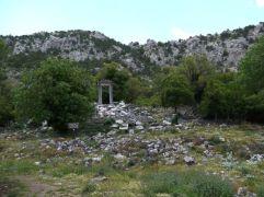 Gate built in honor of Hadrianus
