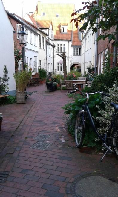 cute yard in Lübeck