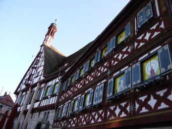 Forchheim's beautiful town hall