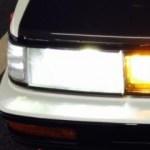 車のヘッドライトをハロゲンライトからLEDヘッドライトに交換は簡単!HID(キセノンヘッドライト)違いは?