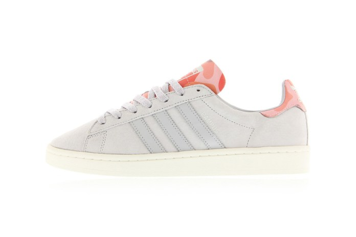 "Pink Camo Makes This adidas Campus ""Sun Glow"" Pop"