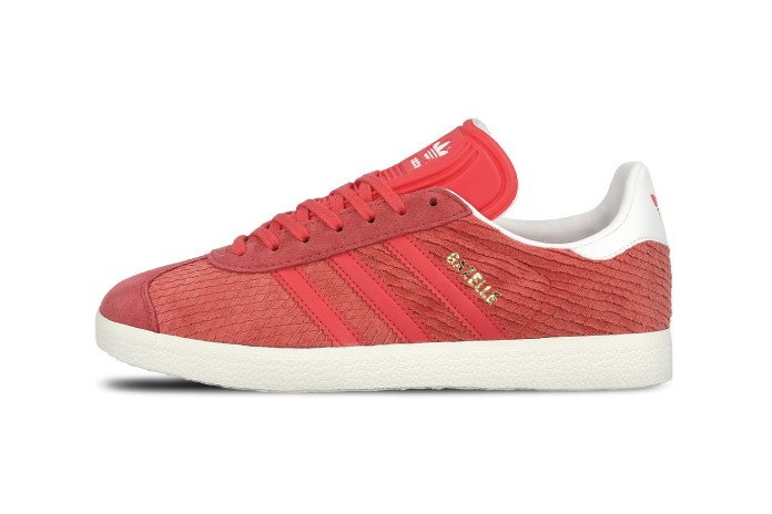"adidas Lasers Diamonds Into This Elite Gazelle ""Core Pink"""
