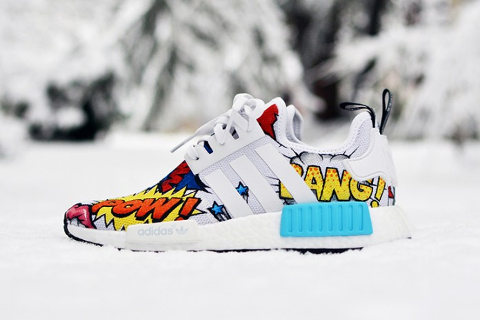 """The adidas NMD_R1 Is Transformed Into an Insane Work of """"Pop Art"""""""