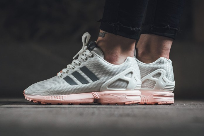 The adidas ZX Flux Returns with a Pretty Tumblr Pink Sole