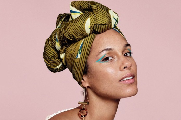 Take an Exclusive Behind-the-Scenes Look at Alicia Keys' Makeup-Free 'Allure' Cover