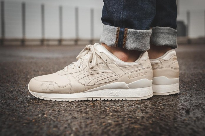 """The ASICS GEL-Lyte III """"Birch"""" Is Totally Minimalist-Approved"""