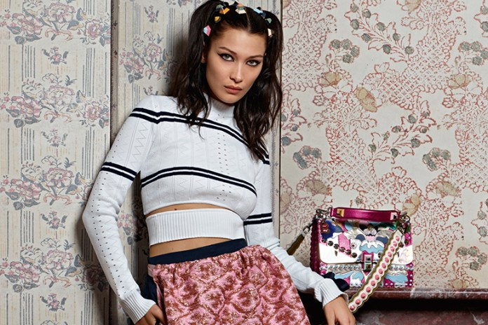 Bella Hadid Is the Face of Fendi's 2017 Spring/Summer Campaign