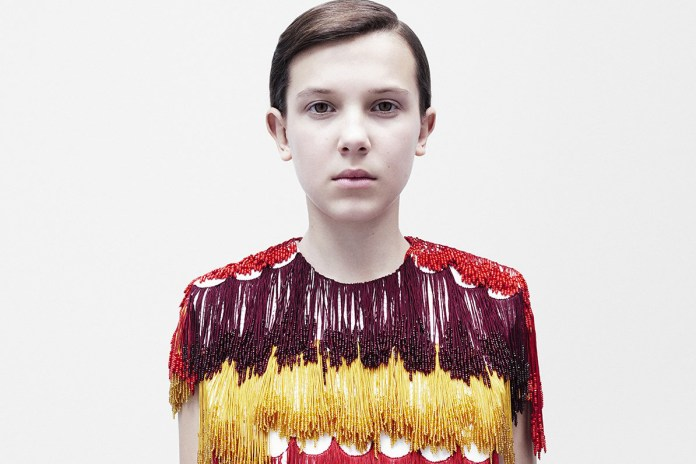 Raf Simons Taps Millie Bobby Brown as the New Face of Calvin Klein