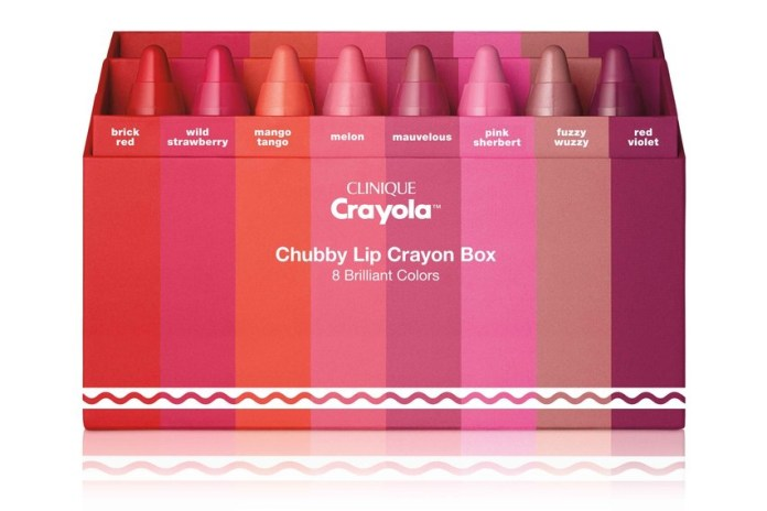 Clinique's Crayola Chubby Sticks are Like Beauty Crayons for Your Lips