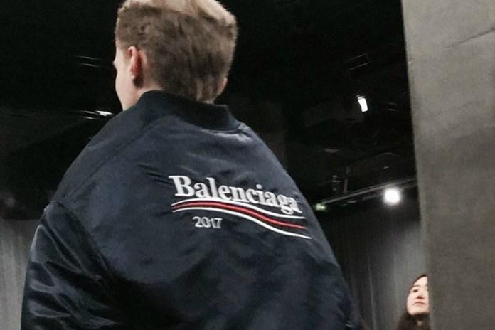 Demna Gvasalia Is Feeling the Bern at His Second Balenciaga Men's Show