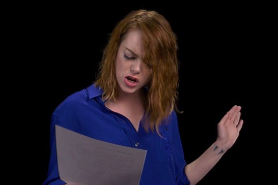 "Emma Stone Is the Best Karaoke Partner Ever in This ""I Will Survive"" Act"