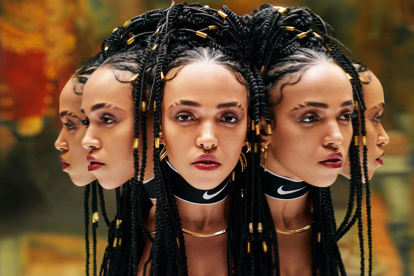 FKA twigs Nike do you believe in more Campaign