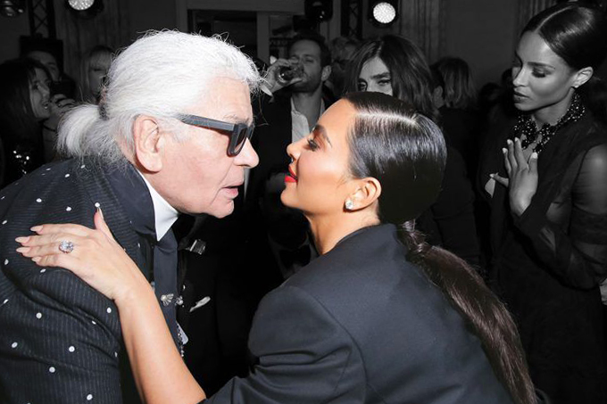 Kim Kardashian Karl Lagerfeld - 77173