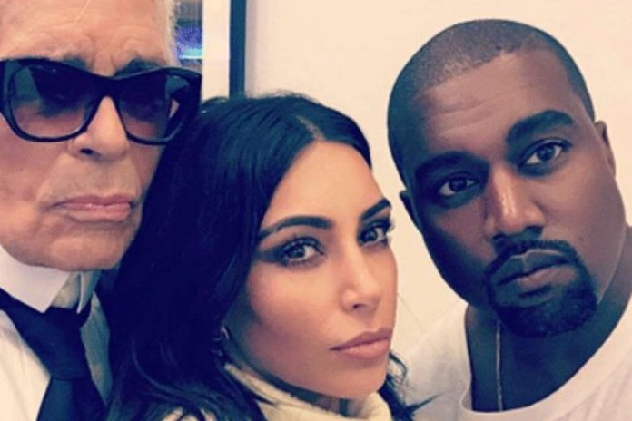 Karl Lagerfeld Opens up About What It's Like to Photograph Kendall, Kim and Kanye