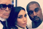 Picture of Karl Lagerfeld Opens up About What It's Like to Photograph Kendall, Kim and Kanye