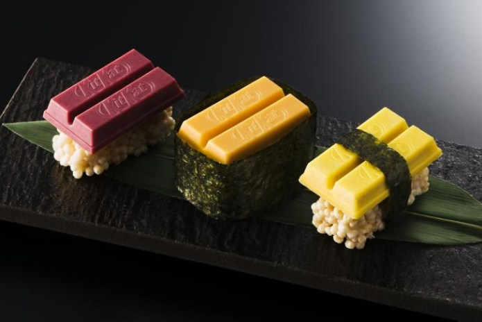 Yes, Sushi Kit Kats Are Now a Thing