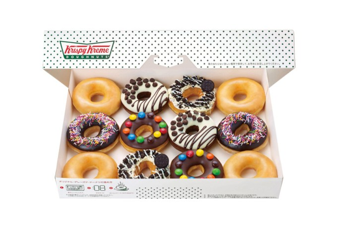 Krispy Kreme Fulfills Your Chocolate Fantasies with New Hershey's, M&M's and Oreo Donuts
