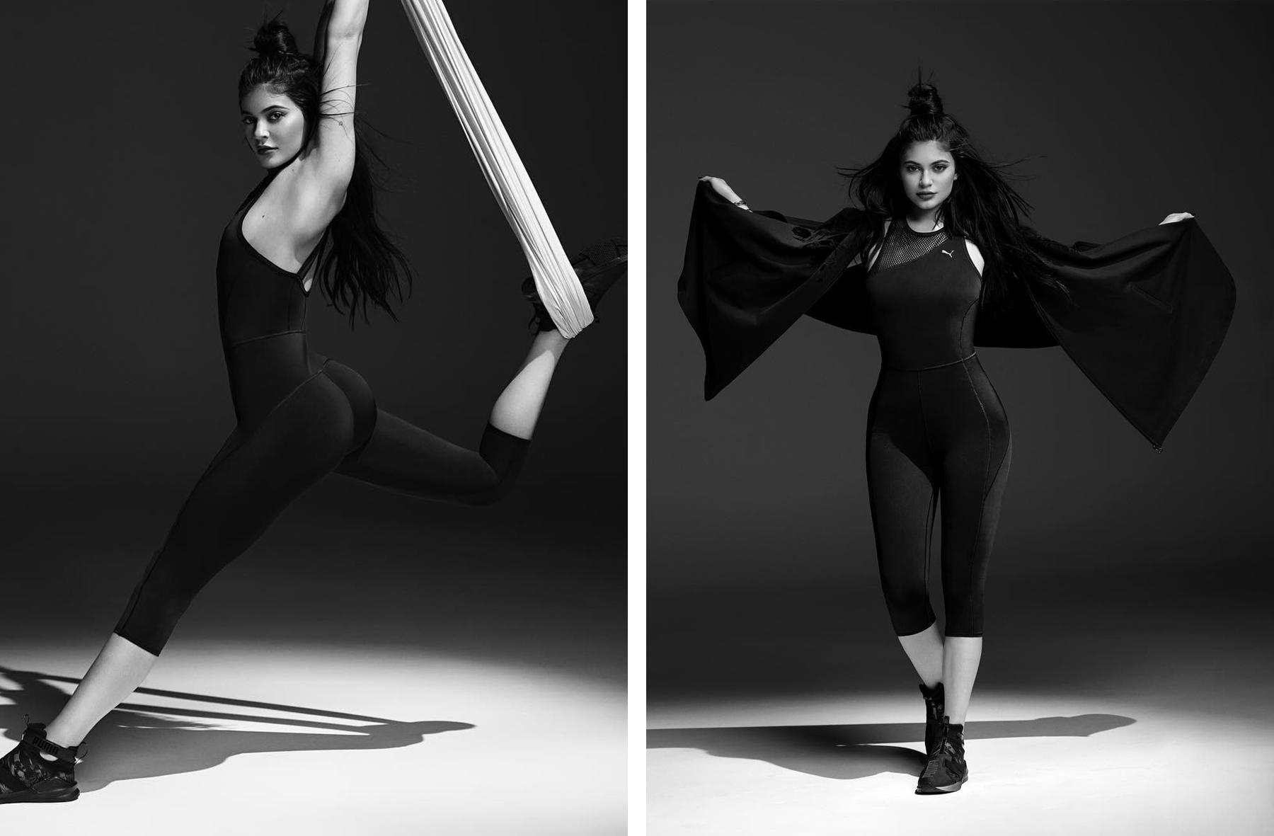 Kylie Jenner PUMA Fierce Strap Swan